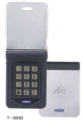 アート デジタルテンキー(T-3830)